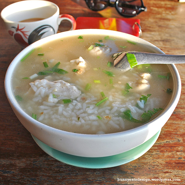 how to eat chicken congee