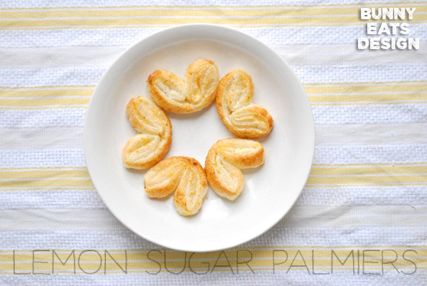 Lemon Sugar Palmiers