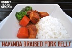 Hakanoa Braised Pork Belly