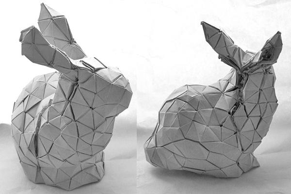 Monday Bunday Amazing Origami Rabbit Bunny Eats Design