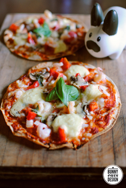 Pizza – an unexpected way to eat vegetables.
