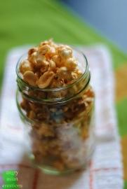 Vegan Caramel Popcorn | Angry Asian