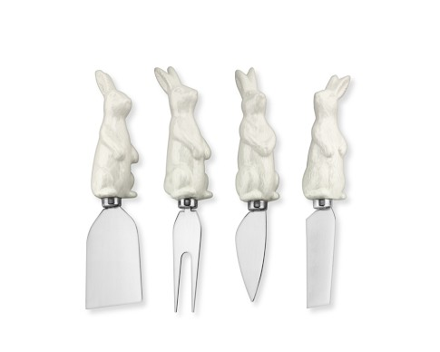 Williams-Sonoma: Bunny cheese knives (set of 4)