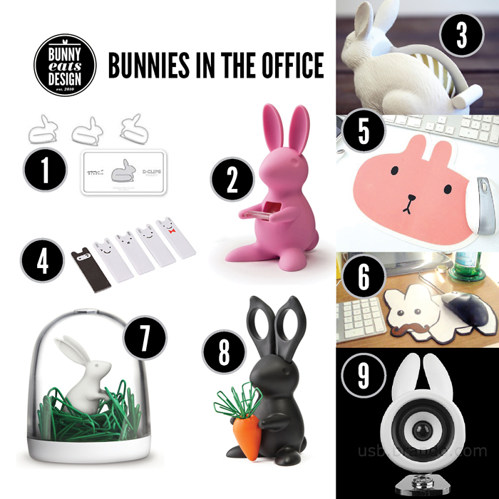 bunnies-office