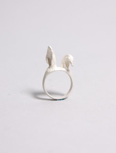 Bunny Blanco ring