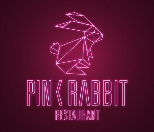 monday bunday: rabbit restaurant logos   bunny eats design