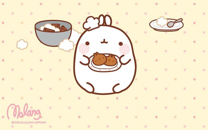 Monday Bunday: Molang | Bunny Eats Design