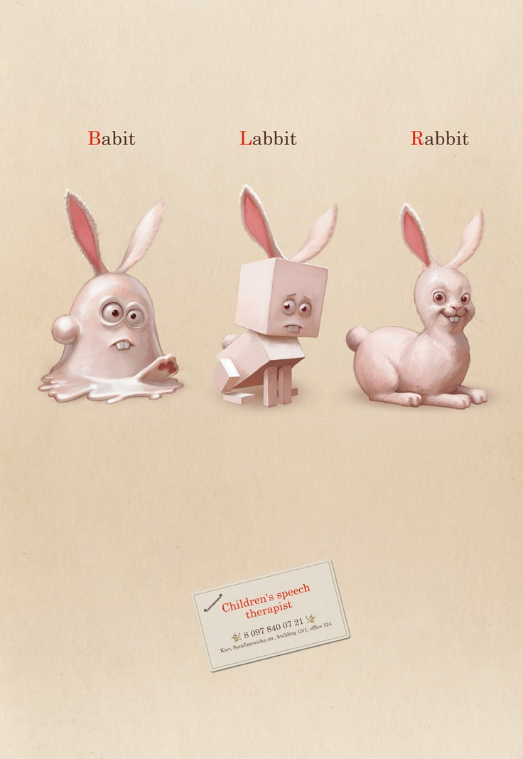 monday bunday speech therapist poster bunny eats design