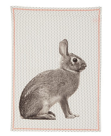 rabbit-teatowel