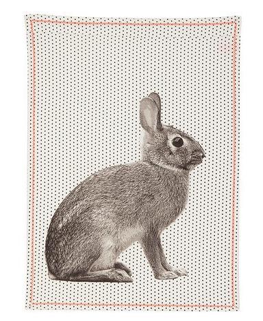 rabbit-teatowel