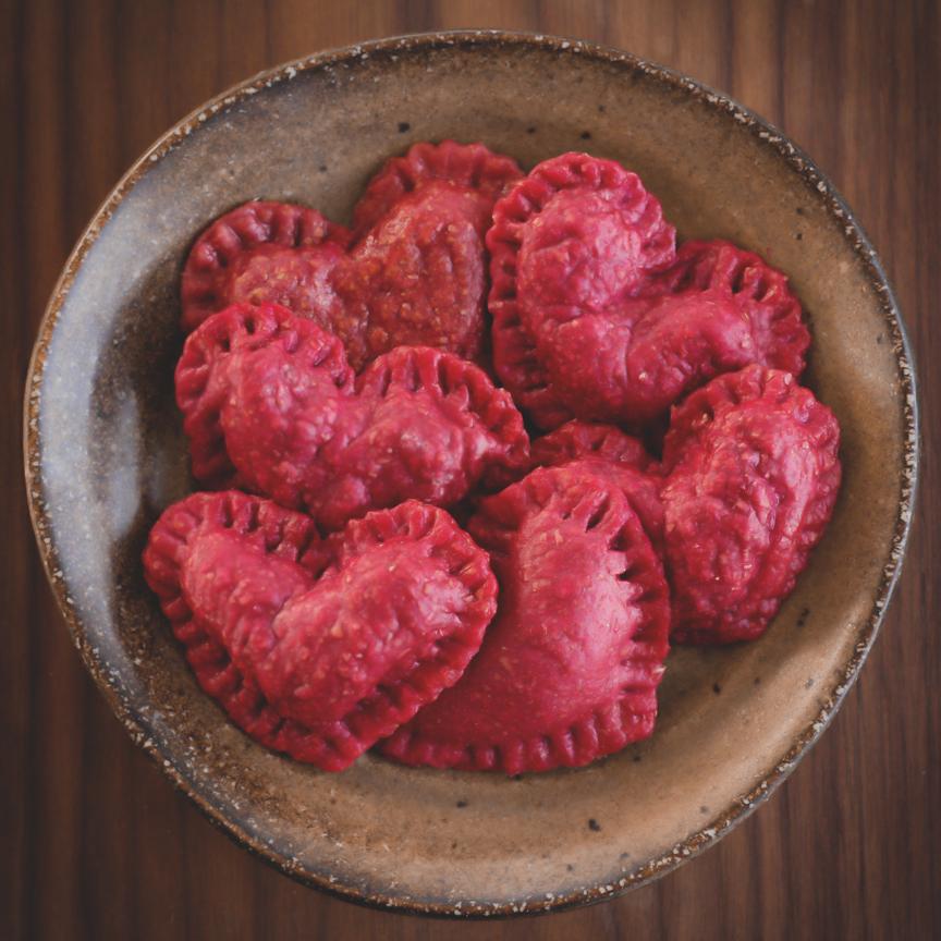beet-chevre-ravioli-hearts