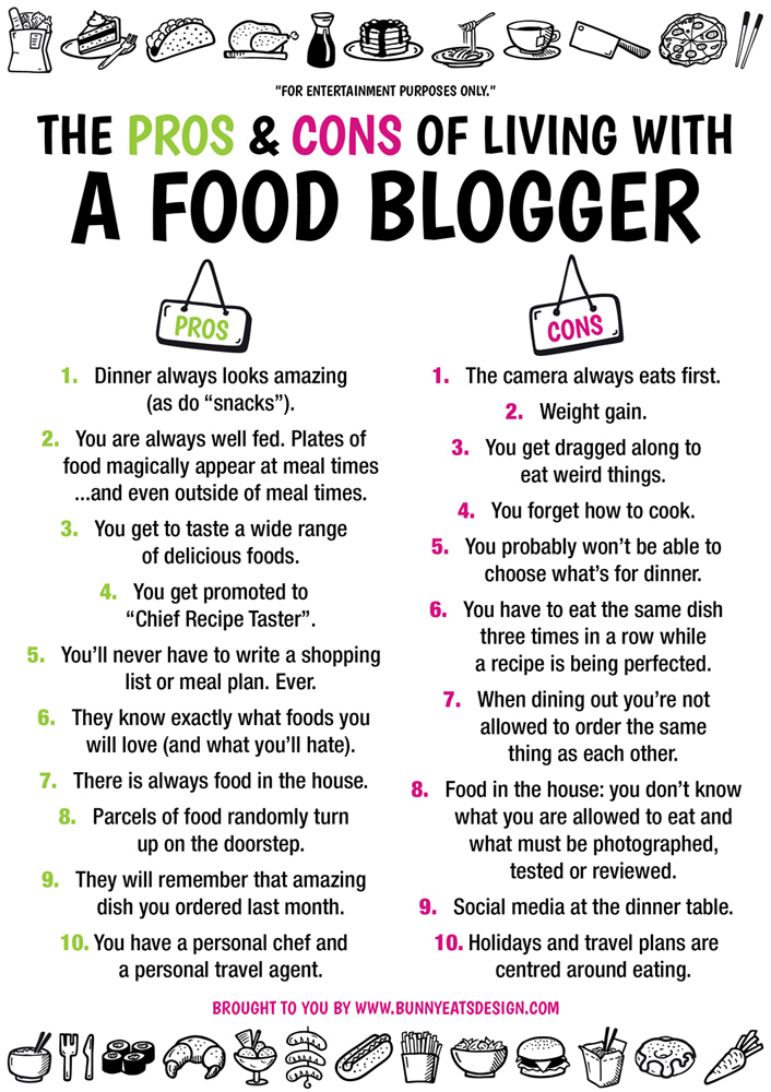 food-blogger-pros-cons