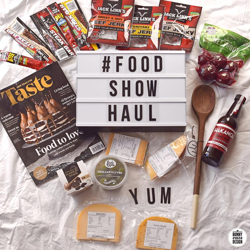 foodshow-haul