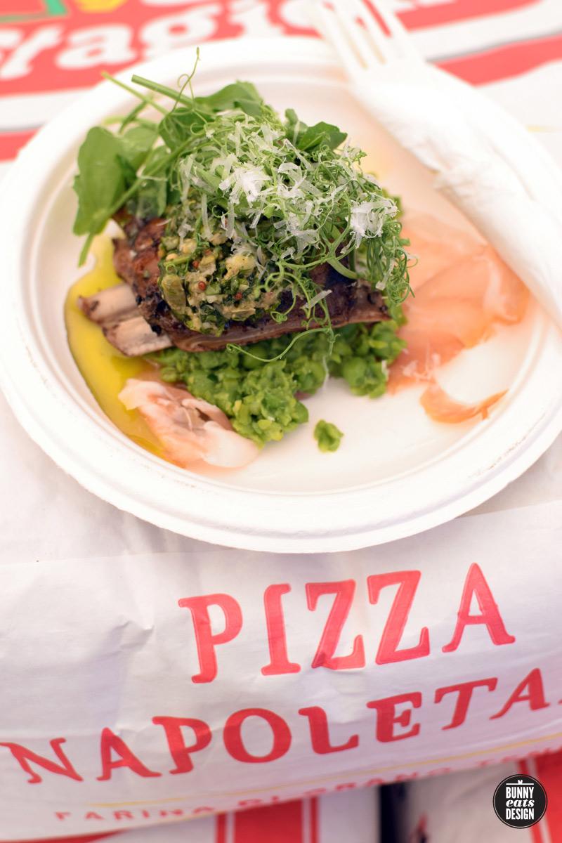 Farina's winning dish Best in Taste 2016.