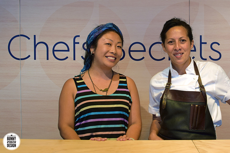 Hanging out with Monique Fiso at Electrolux Chef's Secrets 2016